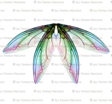 Load image into Gallery viewer, PRINTABLE FAIRY WINGS for Art Dolls - Set 20