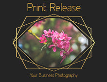 Load image into Gallery viewer, PRINT RELEASE - PSD Template No. 3