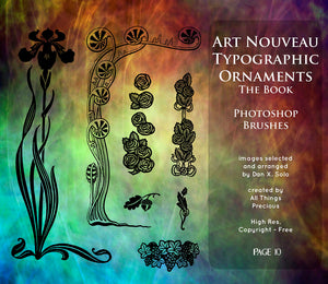 PHOTOSHOP BRUSHES - Art Nouveau Page 10 - FREE DOWNLOAD