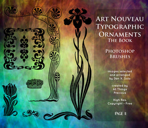 PHOTOSHOP BRUSHES - Art Nouveau Page 11 - FREE DOWNLOAD
