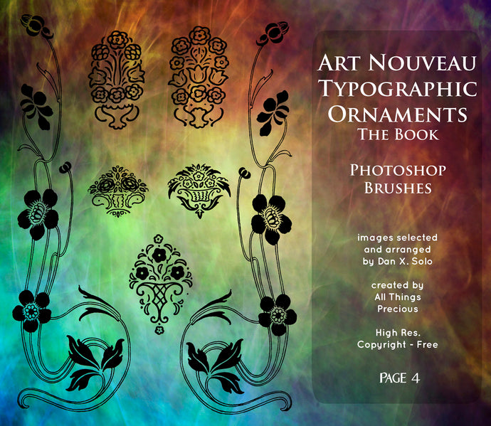 PHOTOSHOP BRUSHES - Art Nouveau Page 4 - FREE DOWNLOAD