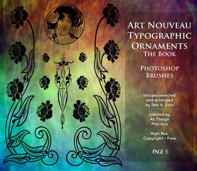 PHOTOSHOP BRUSHES - Art Nouveau Page 6 - FREE DOWNLOAD