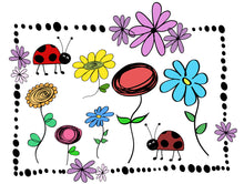 Load image into Gallery viewer, SPRING GARDEN PHOTOSHOP BRUSHES With Clipart
