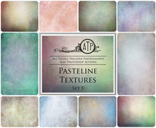 Load image into Gallery viewer, 10 Fine Art PASTELINE High Resolution TEXTURES Set 5
