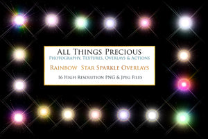 RAINBOW STAR Digital Overlays