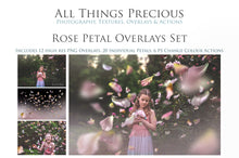 Load image into Gallery viewer, ROSE PETAL Digital Overlays