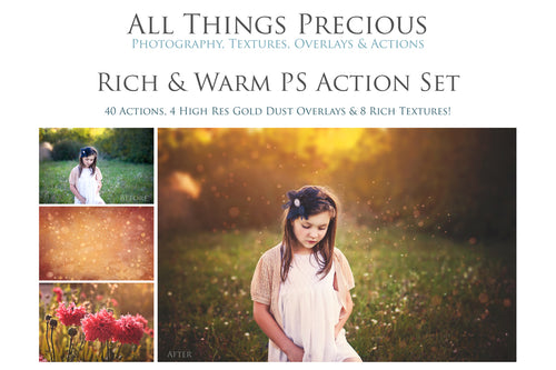 RICH & WARM Photoshop Actions