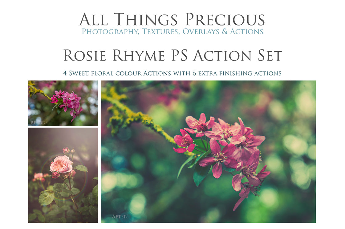 ROSIE RHYME Photoshop Actions