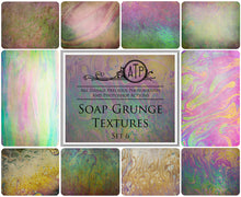 Load image into Gallery viewer, 10 Fine Art TEXTURES - SOAP GRUNGE Set 6