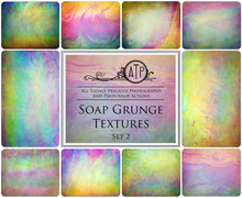 Load image into Gallery viewer, 10 Fine Art TEXTURES - SOAP GRUNGE Set 2