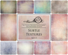Load image into Gallery viewer, 10 Fine Art SUBTLE High Resolution TEXTURES Set 3