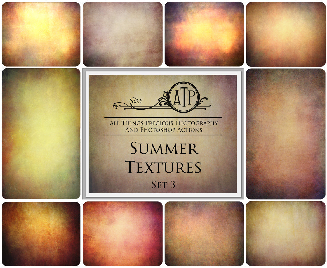 10 Fine Art TEXTURES - SUMMER Set 3