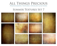 Load image into Gallery viewer, 10 Fine Art TEXTURES - SUMMER Set 7
