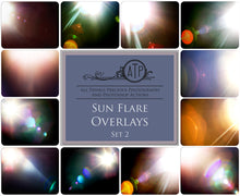 Load image into Gallery viewer, 48 LENS / SUN FLARE Digital Overlays - Bundle No.1