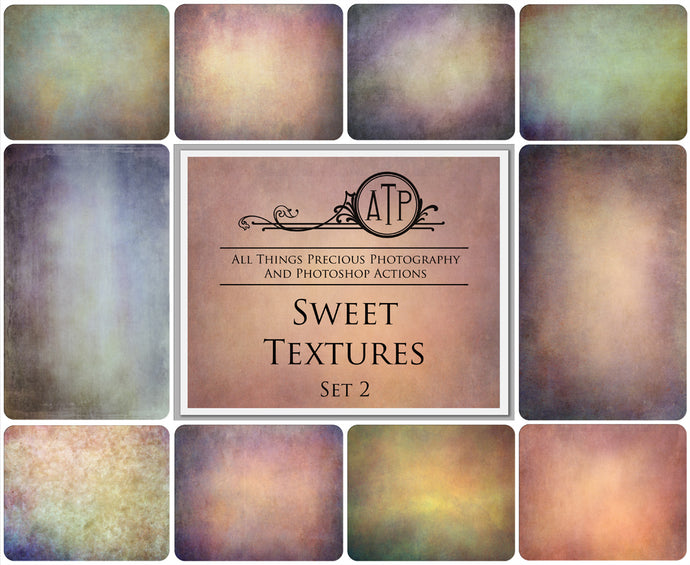 10 Fine Art TEXTURES - SWEET Set 2