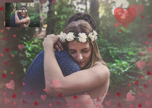 Load image into Gallery viewer, SWEET HEART BOKEH Digital Overlays