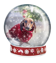 Load image into Gallery viewer, SNOW GLOBE Png Digital Overlays and PSD Template No.11