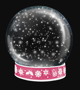 SNOW GLOBE Png Digital Overlays and PSD Template No.11