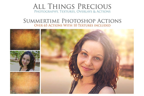 SUMMERTIME Photoshop Actions
