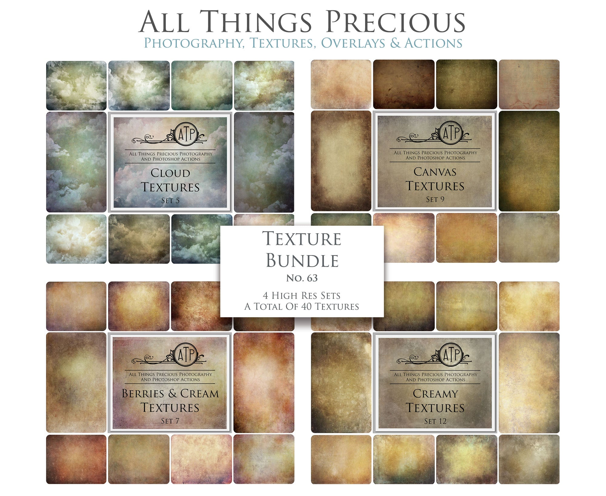 TEXTURE BUNDLE / No. 63