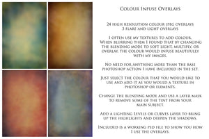 24 COLOUR INFUSE Digital Overlays Set 2