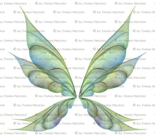 Load image into Gallery viewer, 20 Png FAIRY WING Overlays Set 37