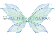 Load image into Gallery viewer, 20 Png FAIRY WING Overlays Set 9