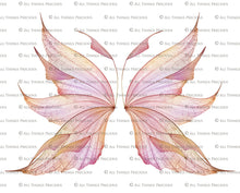 Load image into Gallery viewer, 20 Png TRANSPARENT FAIRY WING Overlays Set 23