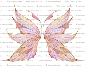20 Png FAIRY WING Overlays Set 23