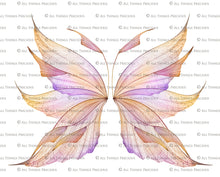 Load image into Gallery viewer, 20 Png TRANSPARENT FAIRY WING Overlays Set 24