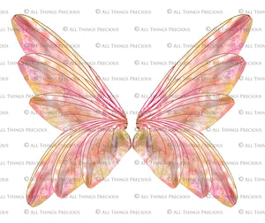 PRINTABLE FAIRY WINGS for Art Dolls - Set 6