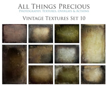 Load image into Gallery viewer, 10 Fine Art TEXTURES - VINTAGE Set 10