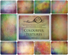 Load image into Gallery viewer, 10 Fine Art TEXTURES - COLOURFUL Set 1