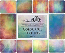 Load image into Gallery viewer, 10 Fine Art TEXTURES - COLOURFUL Set 2