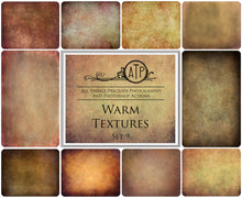 Load image into Gallery viewer, 10 Fine Art WARM High Resolution TEXTURES Set 9