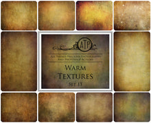 Load image into Gallery viewer, 10 Fine Art WARM High Resolution TEXTURES Set 13