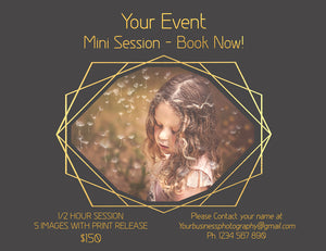 MINI SESSION - PSD Template No. 3