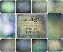 Load image into Gallery viewer, 10 Fine Art TEXTURES - WINTER Set 8