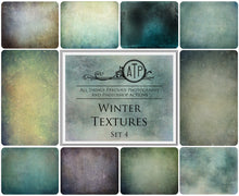 Load image into Gallery viewer, 10 Fine Art TEXTURES - WINTER Set 4