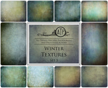 Load image into Gallery viewer, 10 Fine Art WINTER High Resolution TEXTURES Set 5