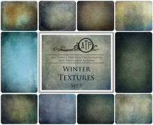 Load image into Gallery viewer, 10 Fine Art TEXTURES - WINTER Set 7