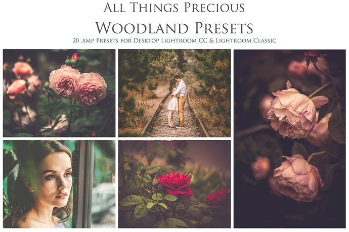 WOODLAND Lightroom Presets - For DESKTOP