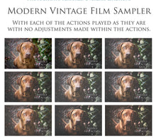 Load image into Gallery viewer, MODERN VINTAGE FILM Photoshop Actions