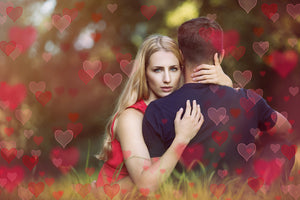 SWEET HEART BOKEH Digital Overlays