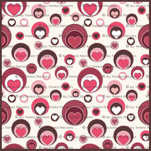 Load image into Gallery viewer, SWEET HEART Digital Papers Set 3