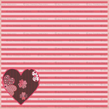 Load image into Gallery viewer, SWEET HEART Digital Papers Set 2