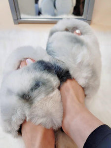 Cozy Winter Faux Fur Slippers