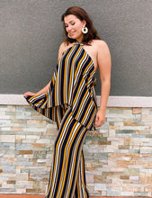 Load image into Gallery viewer, Lounge Affair Mustard Jumpsuit
