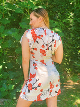 Load image into Gallery viewer, Floral Front Tie - Dress