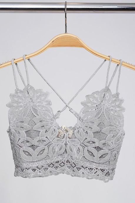 Dainty and Sexy Bralette - Grey